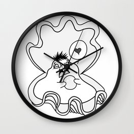 Euge Clam Wall Clock
