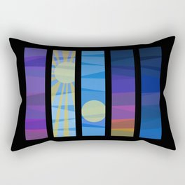 Prayer Times Rectangular Pillow
