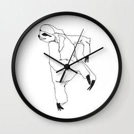 A Sloth Wall Clock