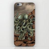 cthulhu iPhone & iPod Skins featuring Cthulhu by MrDenmac
