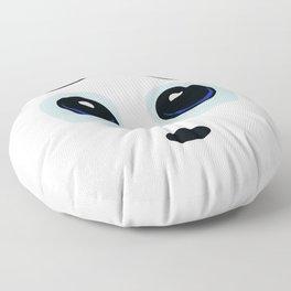 Vulnerable Smiley Face Floor Pillow