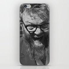 weird. beard. iPhone & iPod Skin