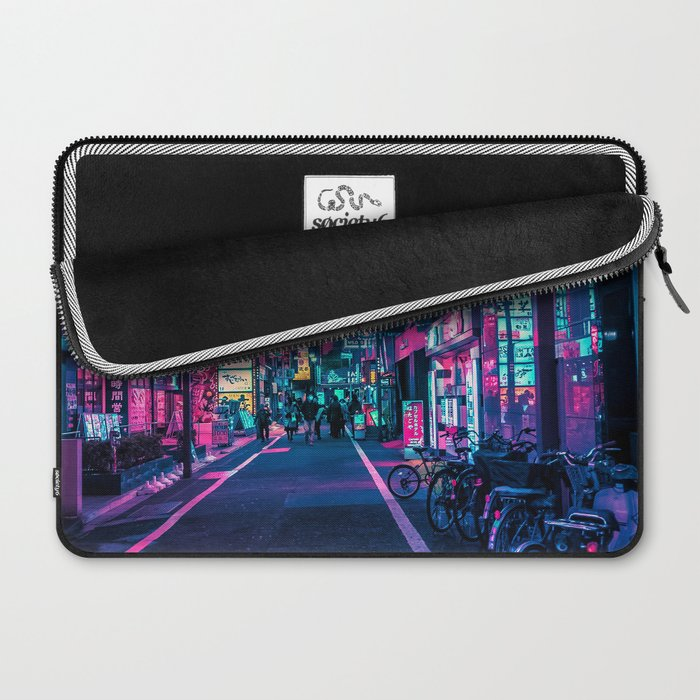A Neon Wonderland called Tokyo Laptop Sleeve
