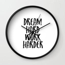 Stay Humble - Work Hard, Dream Big, Stay Humble, PRINTABLE Quotes, Wall Art Printable, Wall Art Wall Clock