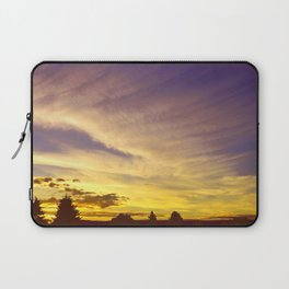 Painted Clouds  Laptop Sleeve