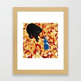 Conte d'automne Framed Art Print