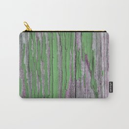 Green rustic wood Carry-All Pouch
