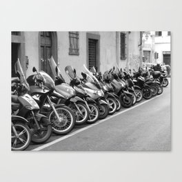 All in a line Canvas Print