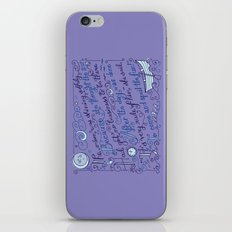 The Walrus and the Carpenter, Stanza 2 iPhone & iPod Skin