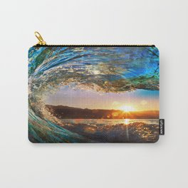 Beach - Waves - Ocean - Sun   Carry-All Pouch