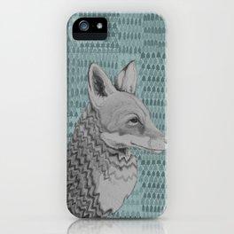 Foxportrait iPhone Case