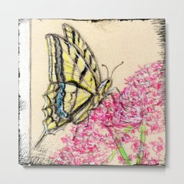 Collette's butterfly Metal Print
