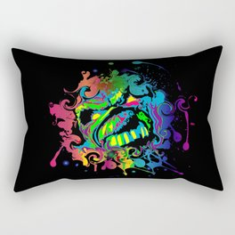 PAINT SPLAT ZOMBIE Rectangular Pillow