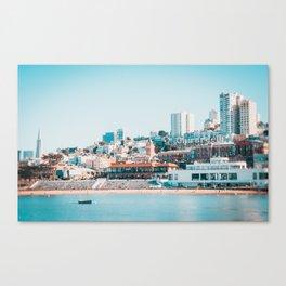 Ghirardelli Sign in San Francisco Fine Art Print  • Travel Photography • Wall Art Canvas Print