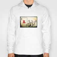 baseball Hoodies featuring Baseball by Funniestplace