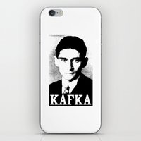 kafka iPhone & iPod Skins featuring KAFKA by Lestaret