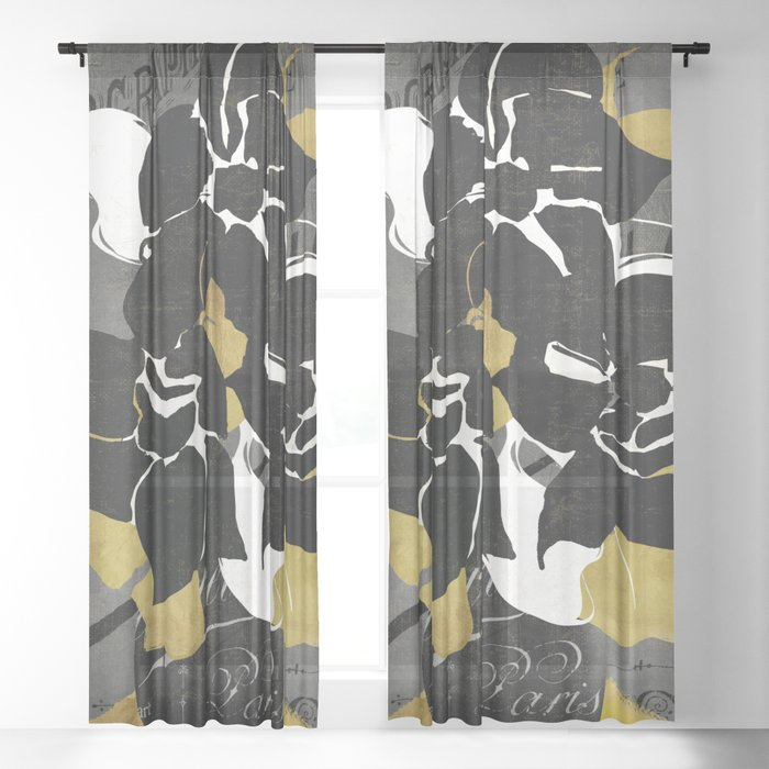 Georgette II Sheer Curtain