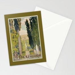 Tivoli Lazio Rome travel ad Stationery Cards