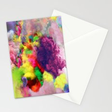 Colorful Smoke And Mirrors Stationery Cards
