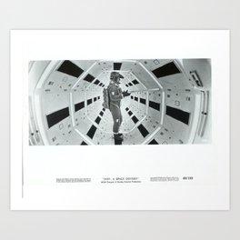 2001 A SPACE ODISSEY  Art Print