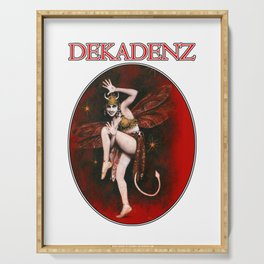 Dekadenz Dancing Devil Girl Serving Tray