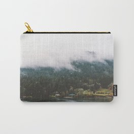 Foggy Vancouver Island, BC Carry-All Pouch