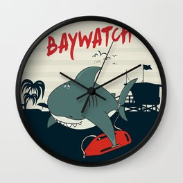 Baywatch  Wall Clock