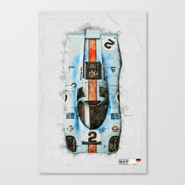 917 Top View Canvas Print