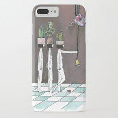 wait your turn iPhone 7 Plus Slim Case