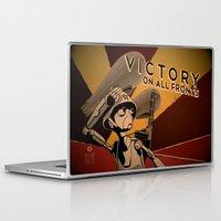 propaganda Laptop & iPad Skins featuring Propaganda Series 4 by Alex.Raveland...robot.design.digital.art