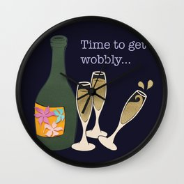 Time to get wobbly Wall Clock