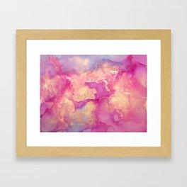 Alcohol Ink - Nebula 2 Framed Art Print