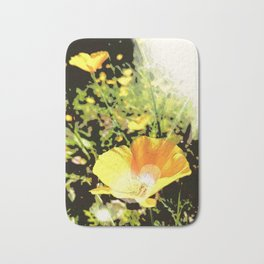 Hana Collection - California Poppy Bath Mat