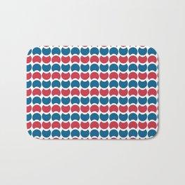 Hob Nob America Stripes Bath Mat