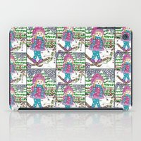 ski iPad Cases featuring Ski girl by iCraftCafé