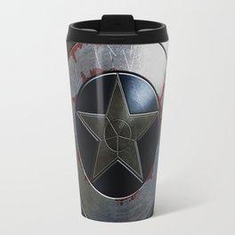 Captain Armor Shield Travel Mug