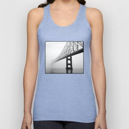 Savanna-Sabula bridge - 2 Unisex Tank Top
