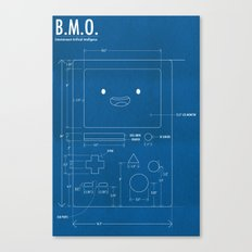 B.M.O. Entertainment Artificial Intelligence (Front) Canvas Print