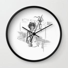 MAUVE Wall Clock