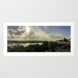 Cuban Sunsets Art Print