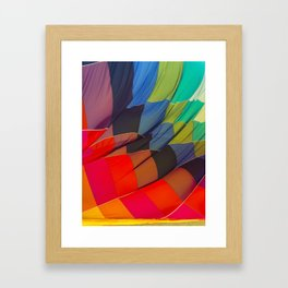 Brighten up and away your day Framed Art Print