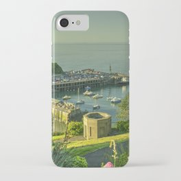 Ilfracombe Harbour Summer iPhone Case