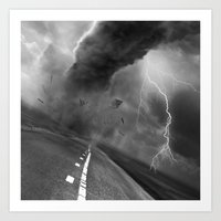 storm Art Prints featuring Storm by eARTh