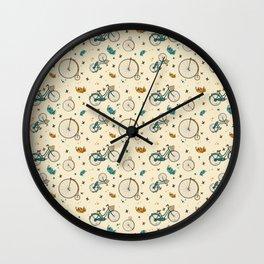 Vintage Ride Wall Clock