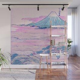 Mount Fuji Ukiyo-e Japanese Vintage Art Wall Mural