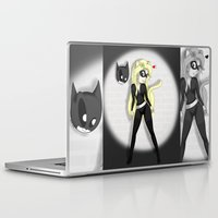 catwoman Laptop & iPad Skins featuring Catwoman by oONekoGirloO