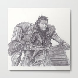 Mad Max - Tom Hardy Metal Print