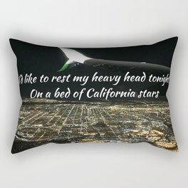 California Stars Rectangular Pillow