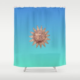Mister Sunshine Shower Curtain