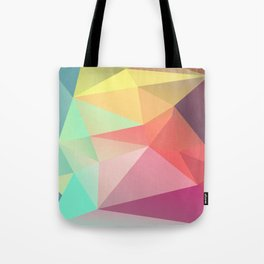 geometric V Tote Bag